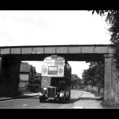 The line crossing London Road in Two Waters south of Hemel Hempstead, in 1957. | © Alan J Willmott