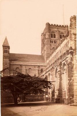 About 1881, South transept complete