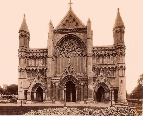 During restoration 1880-1883