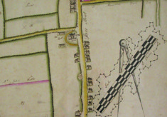 Plan of an estate at Hare Street, 1806