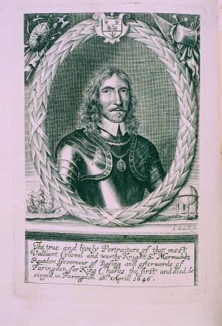 Sir Marmaduke Rawdon | Hertfordshire Archives and Local Studies