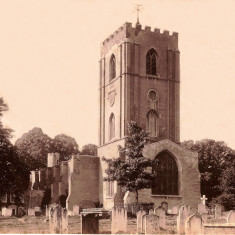 St Peters Church about 1880