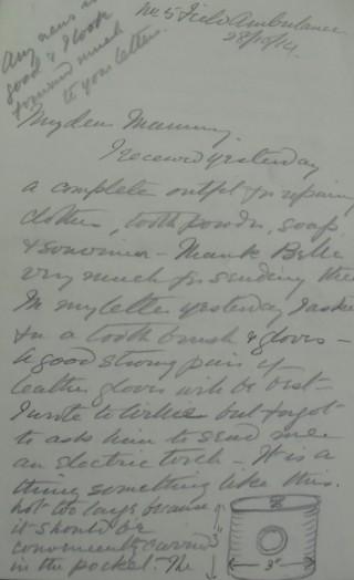 Letter 86940   Hertfordshire Archives & Local Studies