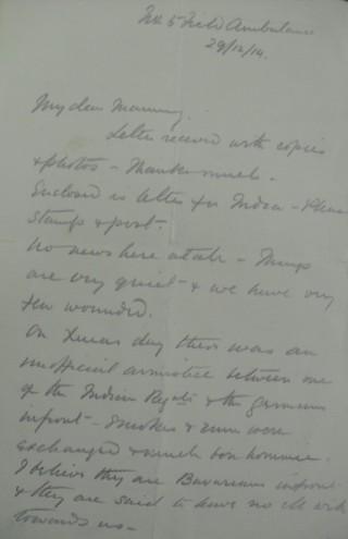 Letter 86954   Hertfordshire Archives & Local Studies