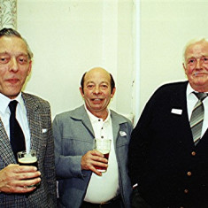 Left to right: Darley Webb, Keith Bissell, James 'Jippy' O'Hara | Geoff Webb
