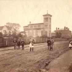 Christ Church, Verulam Road, about 1880