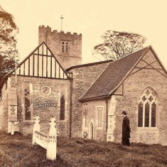 St Michaels Church about 1880