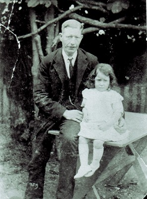 Arthur Hedges with his daughter Phyllis | Geoff Webb