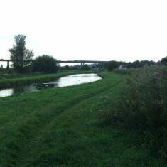 A10 viaduct crosses the landscape   Nicholas Blatchley