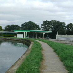 The river overlooks the A10 in Cheshunt | Nicholas Blatchley