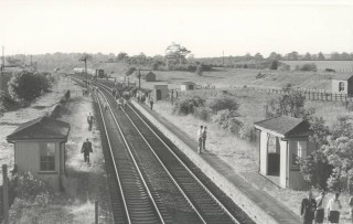 Watton station before modernisation. | Hertfordshire Archives and Local Studies
