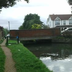 Church Lane, Cheshunt, looking downstream | Nicholas Blatchley