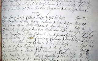 Africk's burial record | Hertfordshire Archives and Local Studies.