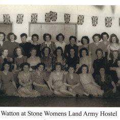 The women of the Watton at Stone Womens Land Army Hostel