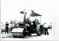 The Vickery's Steam Roller