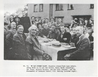 The Franklin Avenue, Ripley Way and Bakers Road VE Day Party