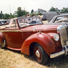 Another red classic car   Anne MacDonald