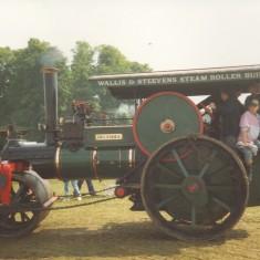 Wallis and Steevens Steam Roller built 1986   Anne MacDonald