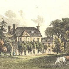 Amwellbury in 1817   Hertfordshire Archives and Local Studies, Ref: Gerish