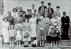A Seaside Outing from Lybury Lane, c.1965