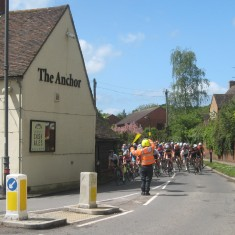 Anchor Lane, approaching Wadesmill   Caroline Churton