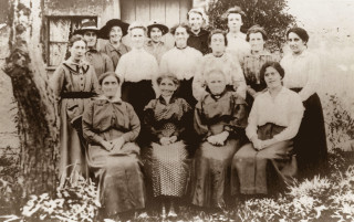 Anstey Mother's Union pictured in 1900 | Hertfordshire Archives and Local Studies