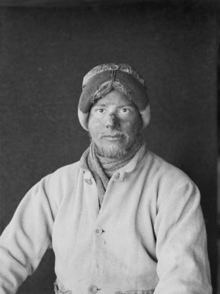 Apsley Cherry-Garrard in January 1912 | British Antarctic Expedition 1910-13 (Ponting Collection)