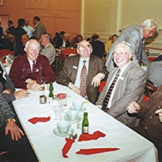 Left to right: Alan French, John Archer, Norman Shepherd, Jim Smith, John Hill (rear), John Tingey, Roy French. | Geoff Webb