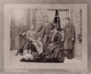 Arthur Herbert Ralph sons of George and Elizabeth Coburn c1902 58 Cowper Road Harpenden | Coburn Collection