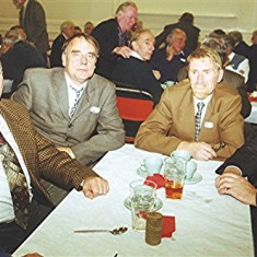 Left to right: Tony Dickinson (rear), Melvyn Austin, Ivor Webb, Brian Christian, Mick Miles. | Geoff Webb