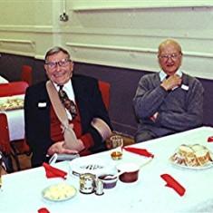 Left to right: Cyril Field, Robin Austin, Jack Waller, Ted Gurney | Geoff Webb