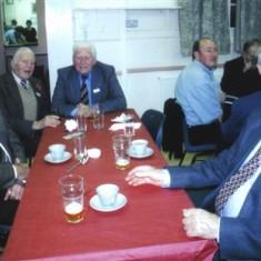 Seated left to right: David Axtell, Geoff and 'Snowy' Nunn, Ken Marshall.   Geoff Webb
