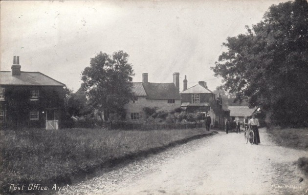 Ayot Green around 1904 or 1905