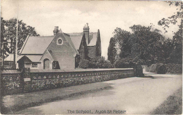 Ayot School (now a private house)