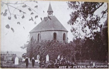 The fragment of the third church, in use as a mortuary chapel in 1911