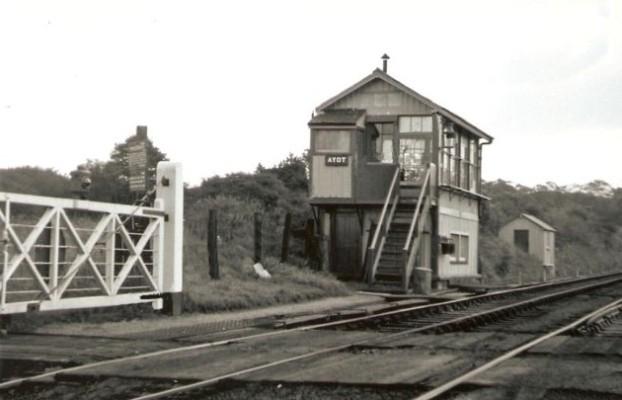 The signal box, around 1950