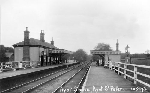 Ayot St Peter Station
