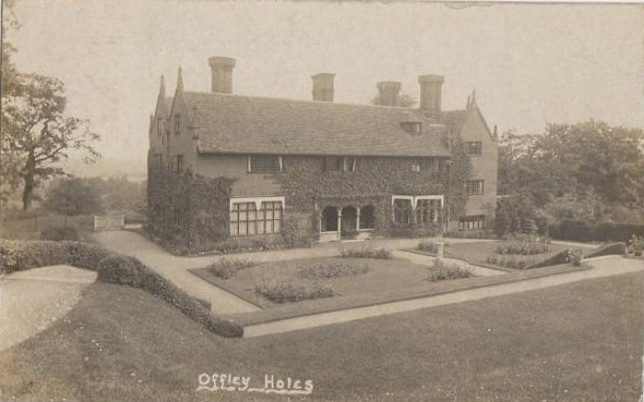 Offley Holes Farm 1916