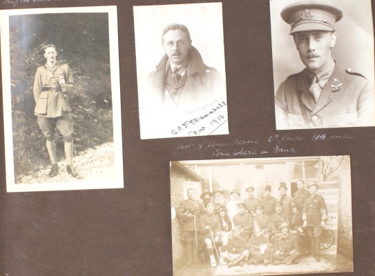 A Selection of WW1 Photographs Related to St Albans