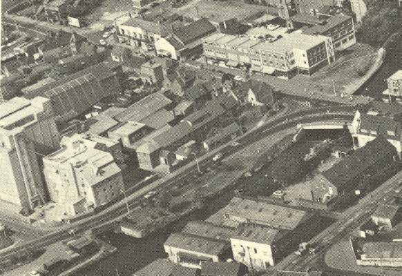 The mills from the air, 1977