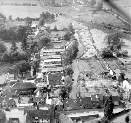 Wheathampstead from the air. Click on the photo to see it fullsize. | Aerofilms