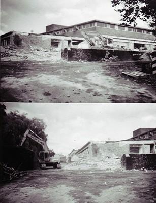 Demolition of Brooke Bond Oxo   Geoff Webb