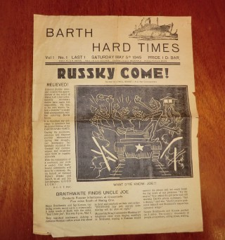 Barth Hard Times magazine | Terry Askew