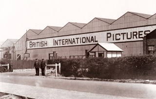 The British International Film Studio 1930s