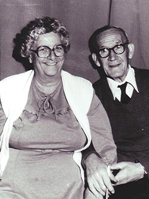 Bill & Joan Mimer   Geoff Webb