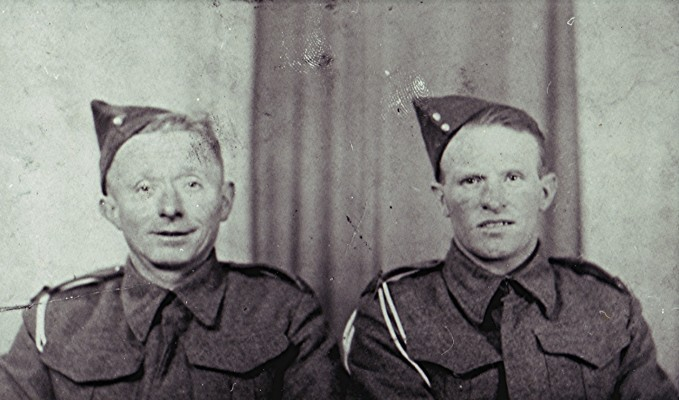 Roger 'Topper' Bandy (left) and Ernie Stevens | Geoff Webb