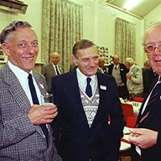 Left to right: Darley Webb, Gordon Bandy, Peter Flitton | Geoff Webb