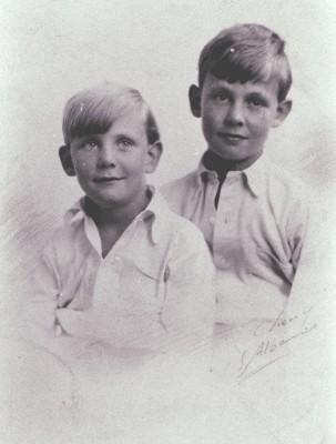 The Hall brothers | Geoff Webb