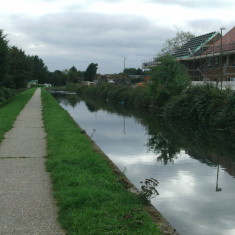 New housing by the river in Cheshunt | Nicholas Blatchley