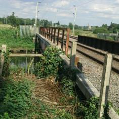 Railway line between New Gauge & Chadwell Springs   Nicholas Blatchley